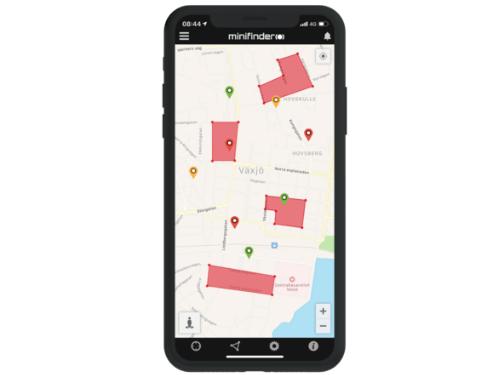 Elektronisk körjournal MiniFinder Go GPS tracker app